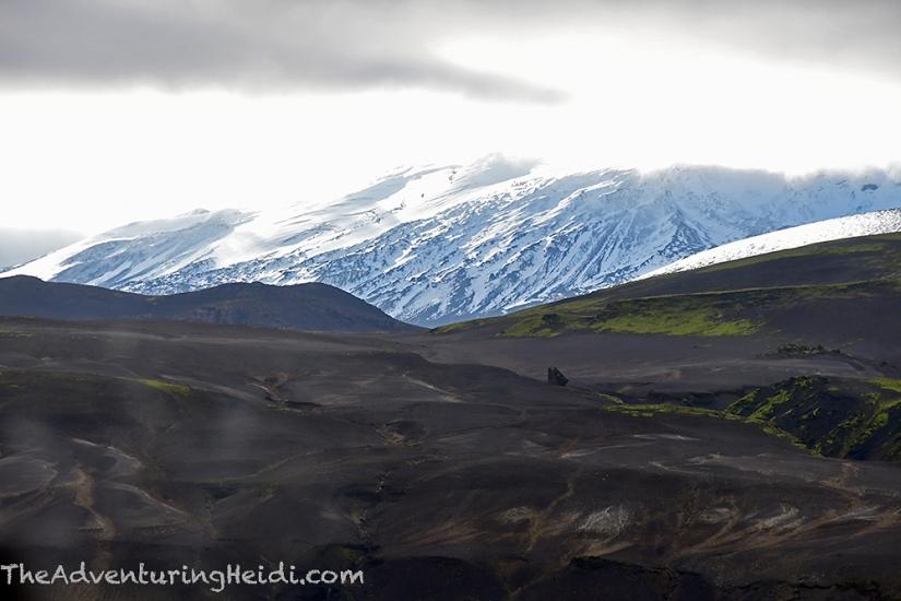 Iceland Hekla volcano